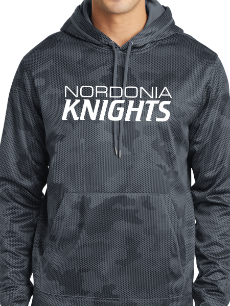 Nordonia Knights CamoHex Fleece Hooded Pullover