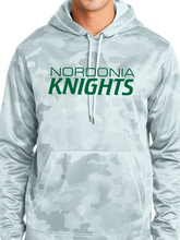 Load image into Gallery viewer, Nordonia Knights CamoHex Fleece Hooded Pullover