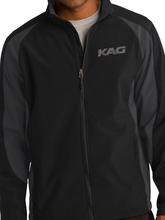 Load image into Gallery viewer, KAG Colorblock Soft Shell Jacket