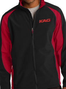 KAG Colorblock Soft Shell Jacket