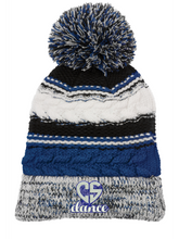 Load image into Gallery viewer, CS Dance Heart Pom Pom Team Beanie