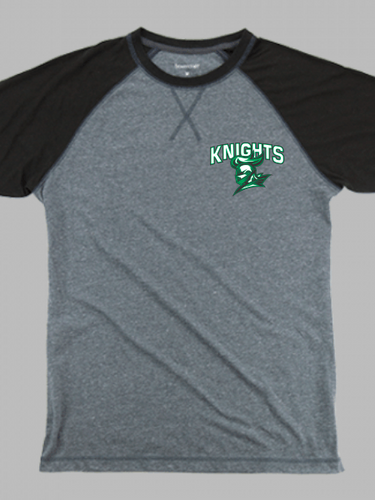 Nordonia Knights Men's Chest Logo Double Play T