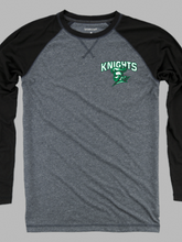 Load image into Gallery viewer, Nordonia Knights Men's Chest Logo Double Play Long Sleeve T