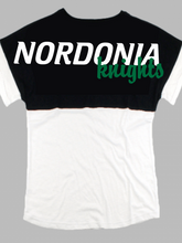 Load image into Gallery viewer, Nordonia Knights Short Sleeve Pom Pom T Shirt