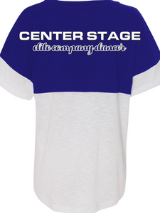 CS Dance Heart Short Sleeve T Shirt - Custom Back