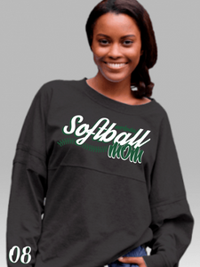Softball Mom Pom Pom Jersey