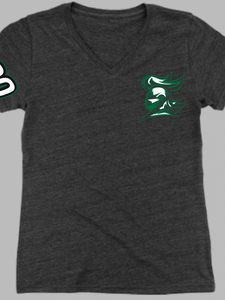 Nordonia Knights Custom Triblend V-Neck T Shirt