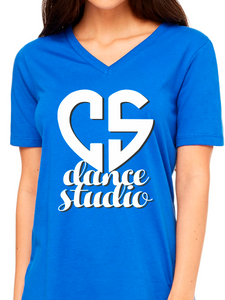CS Dance Studio Relaxed V Neck