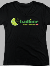 Load image into Gallery viewer, Women's Badlime V Neck T Shirt