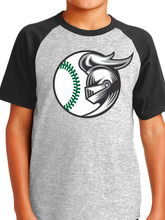 Load image into Gallery viewer, Nordonia Knights Baseball Short Sleeve Raglan Jersey