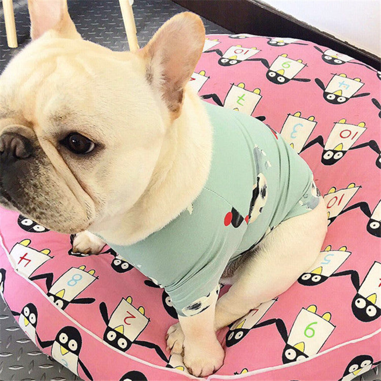 Cartoon French Bulldog Vest With Cute Frenchie Everything Frenchie