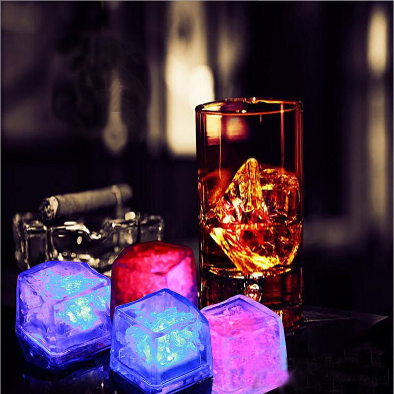 kindlecup light up your moments light up your drink with the light cubes
