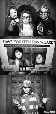 Mojo Spa's Harry Potter Themed Party