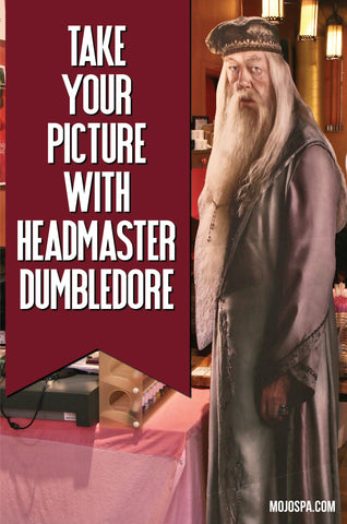 Take your picture with Headmaster Dumbledore