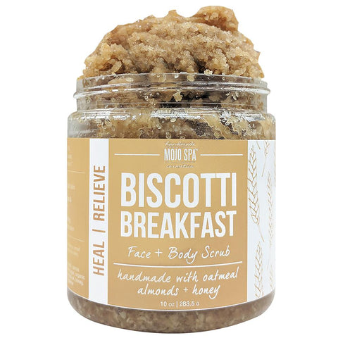 Biscotti Breakfast Face & Body Scrub Product