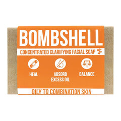 Bombshell Clarifying Facial Soap Product