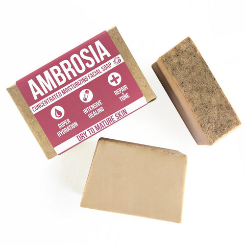 Ambrosia Moisturizing Facial Soap Product