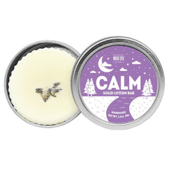Calm Solid Lotion Bar Product