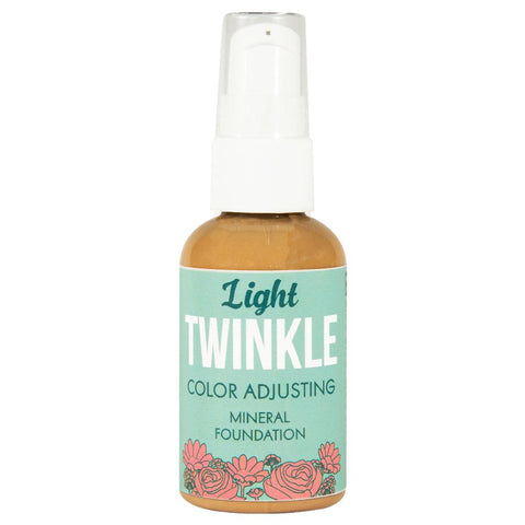 Light Twinkle Color Adjusting Mineral Makeup Product