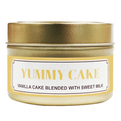Yummy Cake Soy Massage Candle Product