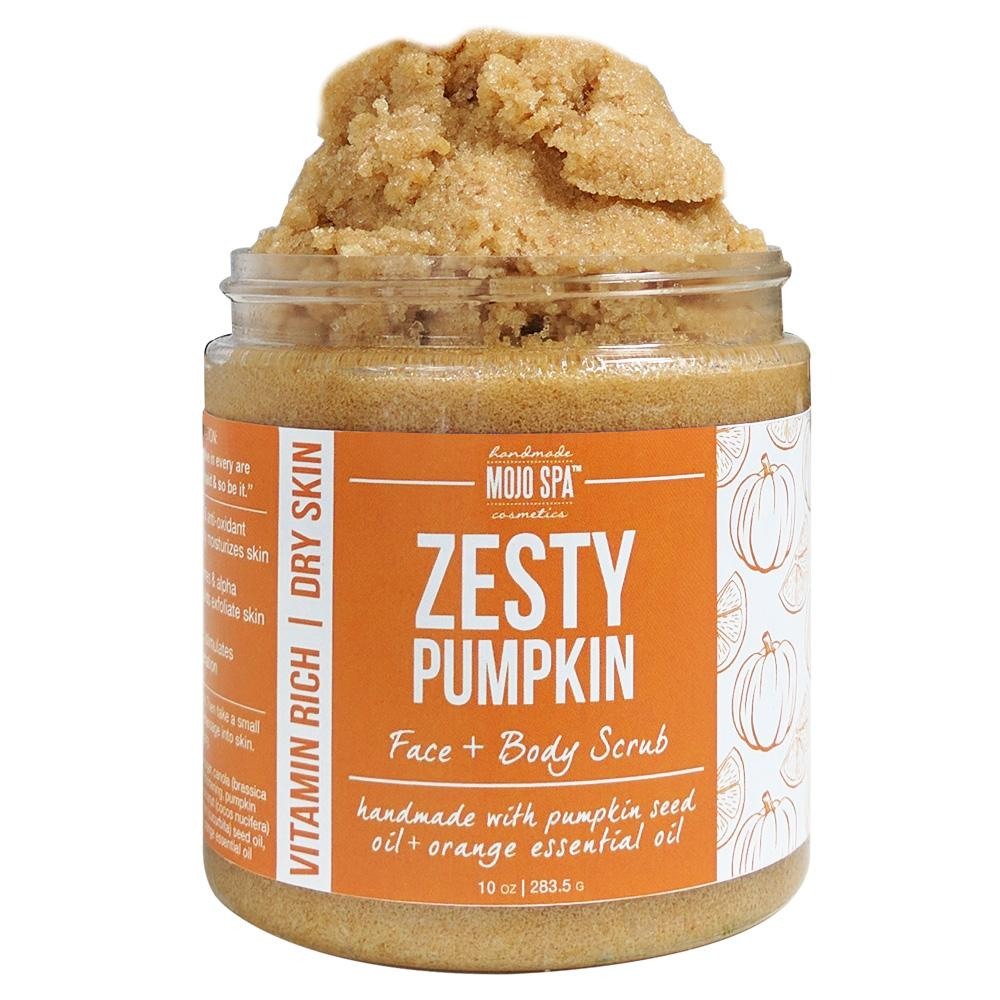 Zesty Pumpkin Face & Body Scrub Product