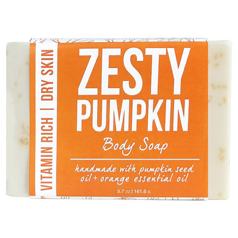 Zesty Pumpkin Body Soap Product