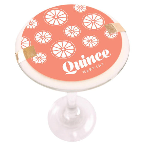 Quince Martini Soy Massage Candle Product