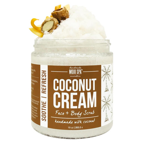 Coconut Cream Face & Body Scrub Product