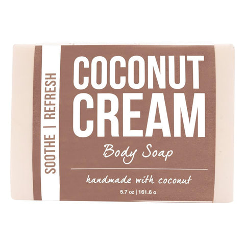Coconut Cream Body Soap Product