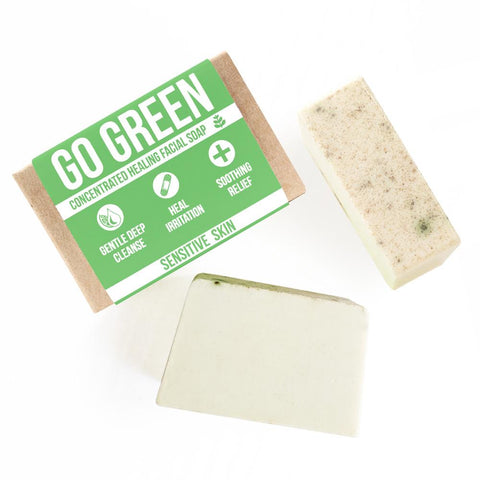 Go Green Healing Facial Soap Product