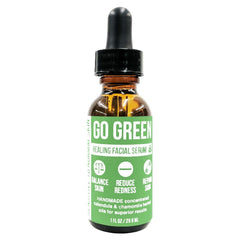 Go Green Healing Facial Serum Product