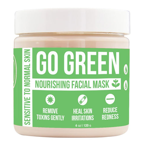 Go Green Nourishing Facial Mask Product