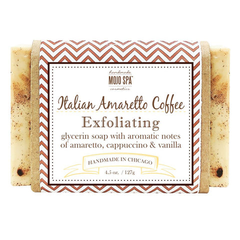 Italian Amaretto Coffee Body Soap Product