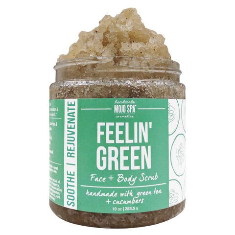 Feelin Green Face & Body Scrub Product