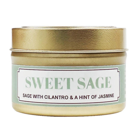 Sweet Sage Soy Massage Candle Product