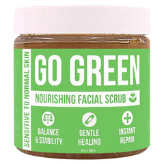 Go Green Nourishing Facial Scrub Product