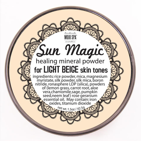 Sun Magic Mineral Powder - Light Beige Skin Tones Product