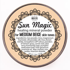 Sun Magic Mineral Powder - Medium Beige Skin Tones Product