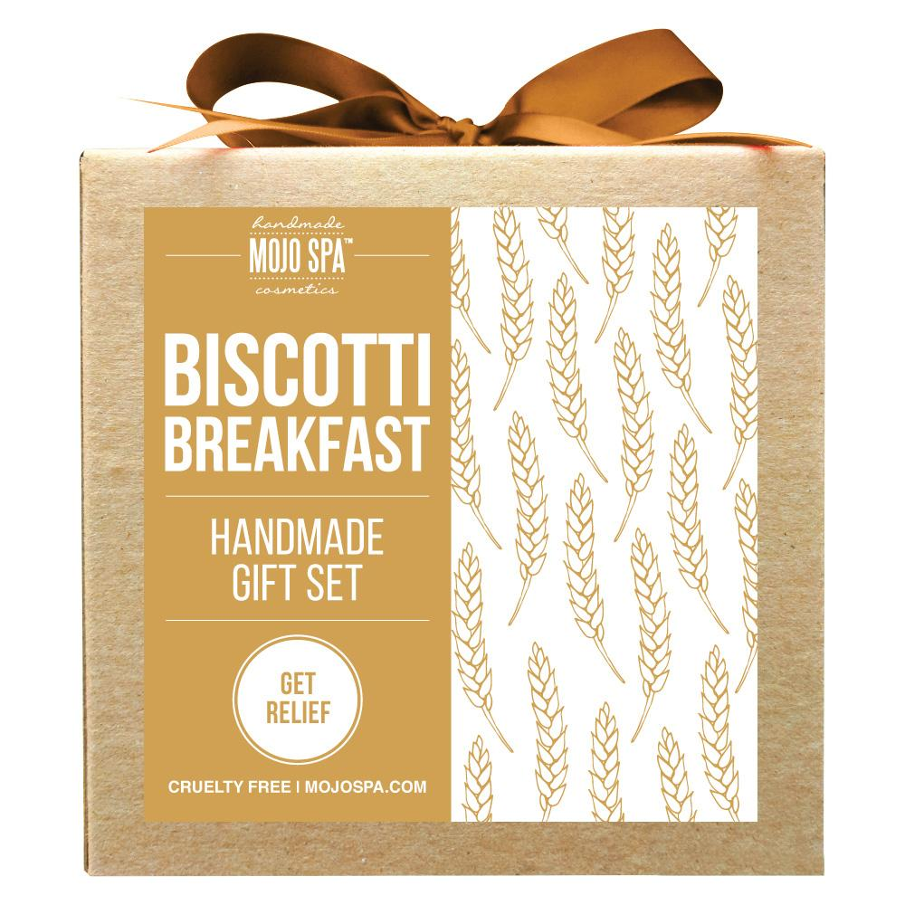 Biscotti Breakfast Scrub & Body Butter Gift Set Product