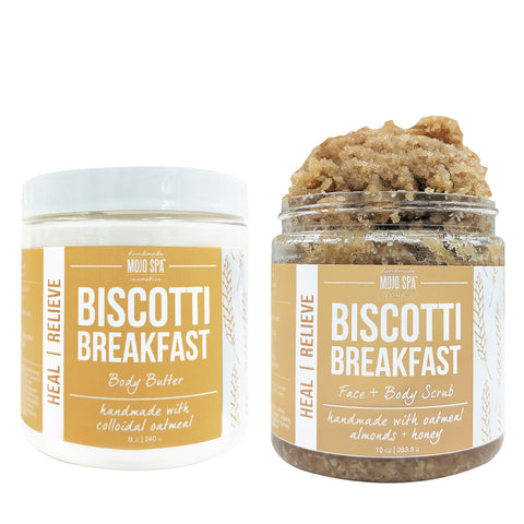 Biscotti Breakfast Scrub & Body Butter Gift Set