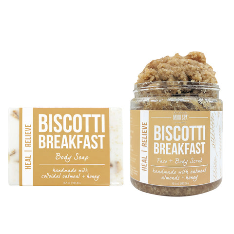 Biscotti Breakfast Scrub & Soap Gift Set