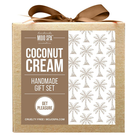 Coconut Cream Scrub & Lotion Gift Set Product