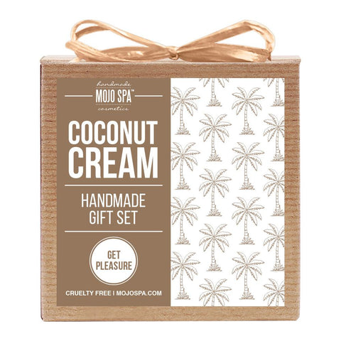 Coconut Cream Scrub & Soap Gift Set Product