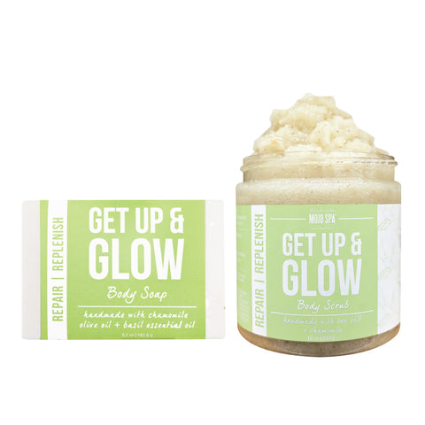 Get Up & Glow Scrub & Soap Gift Set