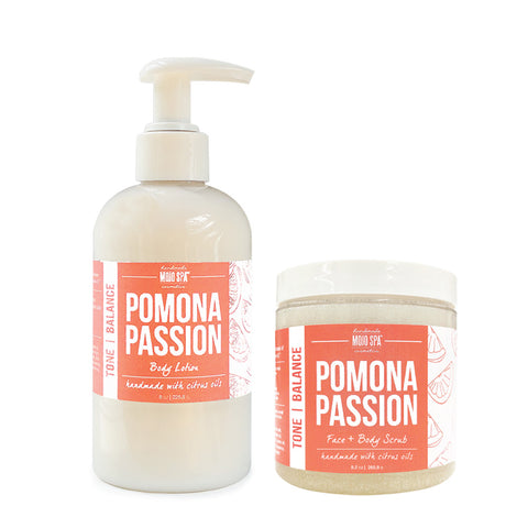 Pomona Scrub & Lotion Gift Set
