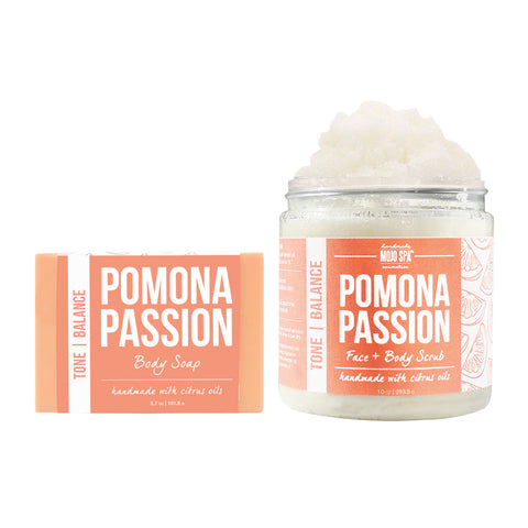 Pomona Scrub & Soap Gift Set