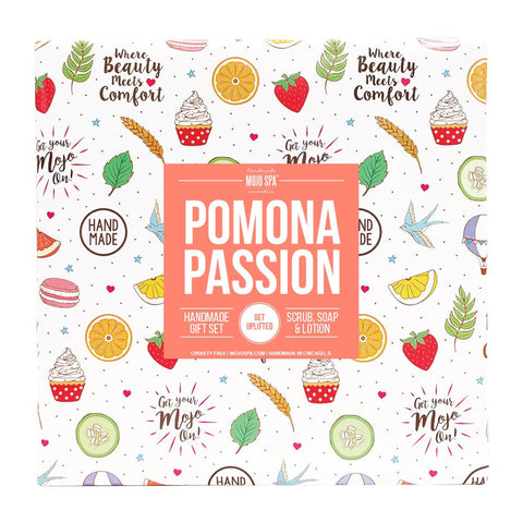 Pomona Scrub, Lotion & Soap Gift Set Product