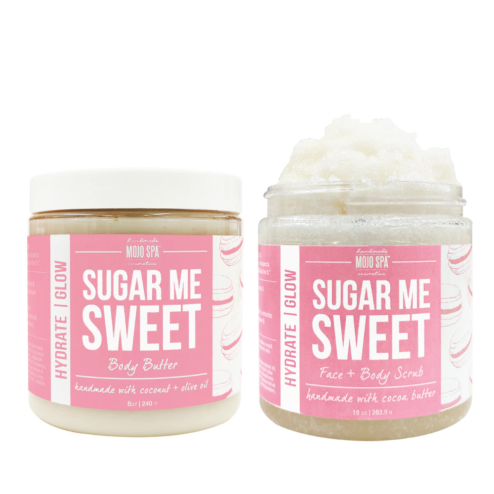 Sugar Me Sweet Scrub & Body Butter Gift Set