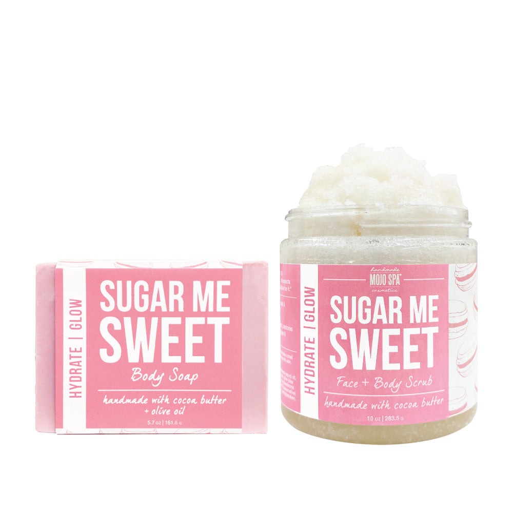 Sugar Me Sweet Scrub & Soap Gift Set