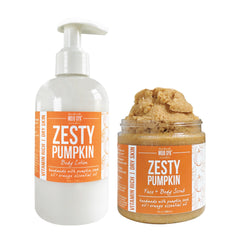 Zesty Pumpkin Scrub & Lotion Gift Set